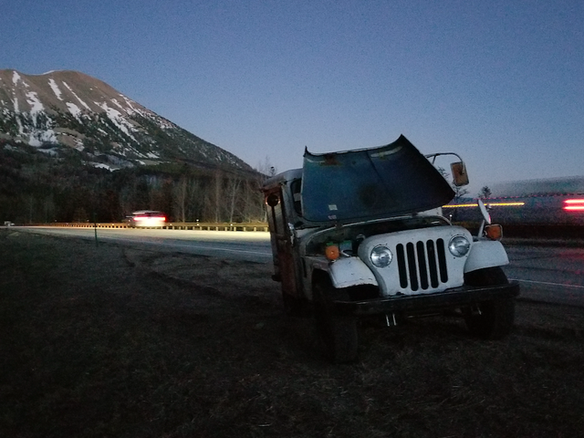 How I Fixed My $500 Postal Jeep After It Left Me Stranded in the Rocky Mountains