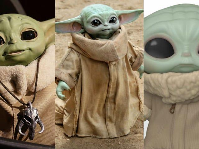 Welk Baby Yoda-speelgoed is geschikt voor u?