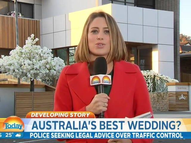 'Australië's beste bruiloft' is het ergste bruiloft van Australië