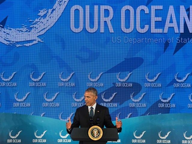 Trump Reverses Obama-Era Ocean Policy Because He Is a Sad, Spiteful Man