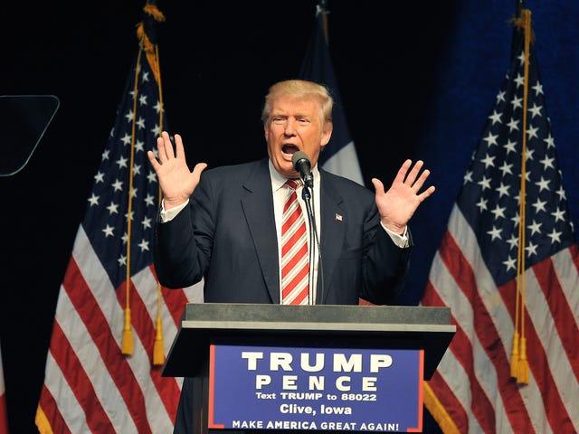 Trump, disperato per il voto delle ovaie, è ora favorevole al controllo delle nascite senza prescrizione