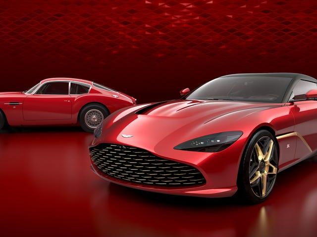 L'Aston Martin DBS GT Zagato n'a pas de fenêtre arrière, car le verre est pour les pauvres