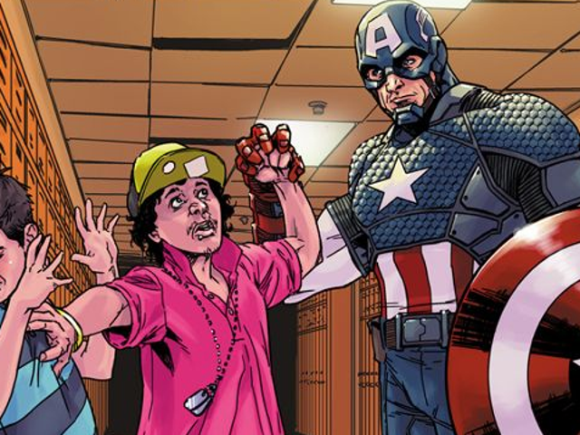 Marvel Heroes help bullied kids in these new Variant Comic Covers