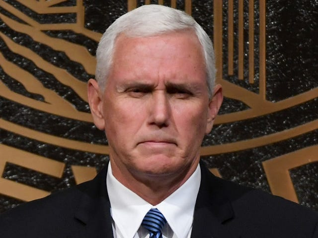 Mike Pence Turned Beet Red During MLK Service as Black Preacher Went Off About 'Shithole' Remarks