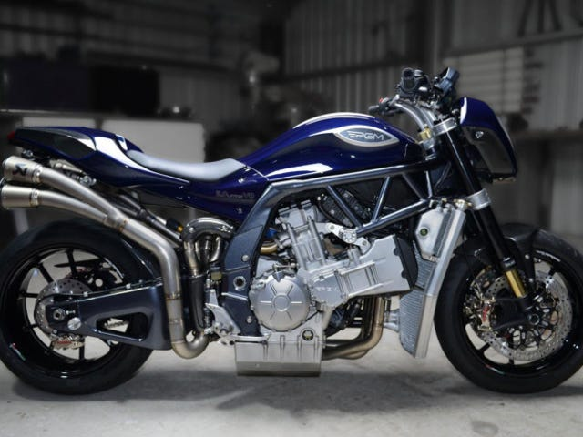 V8 Motorcycle unveiled in Australia