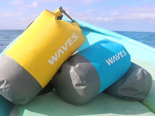 Protect Your Gear with the Infinite Dry Bag from WavesGear (50% Off)