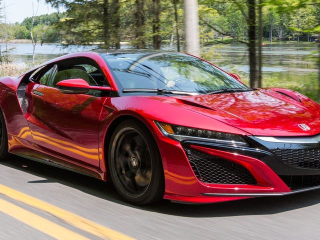 Only Three People Bought an NSX in July
