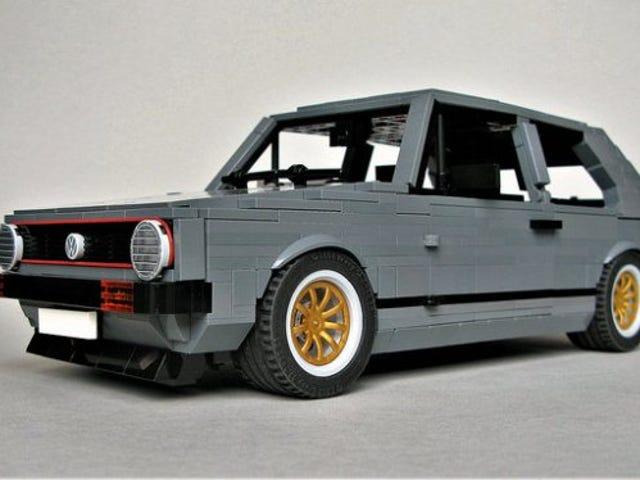 Insane VW Golf GTi Mk1 in Lego