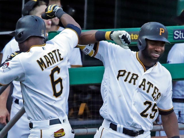 Starling Marte And Gregory Polanco Combine For Rare Slice Of History With Double-Header Dingers