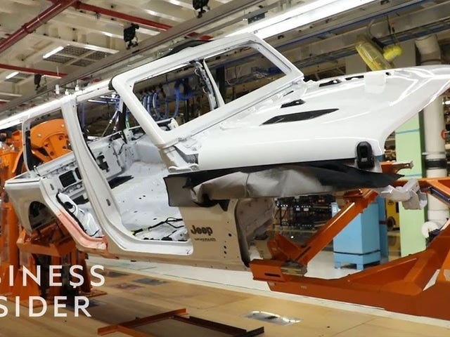 Hvordan en Jeep Wranger er laget