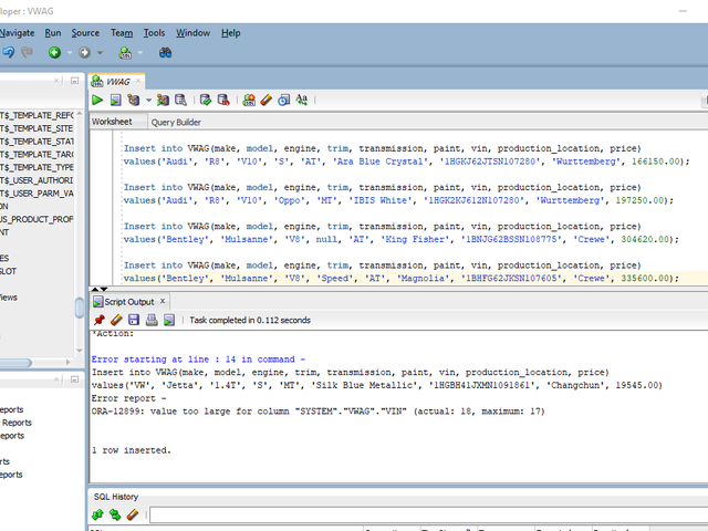 Hid an easter egg in my SQL final project.