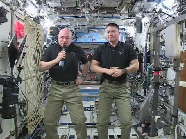 L'équipage de l'ISS a un message pour les délégués à la conférence sur le climat