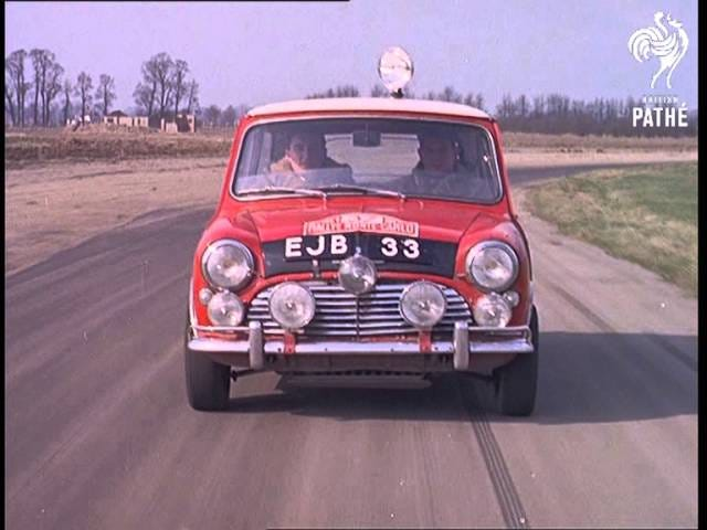 Paddy Hopkirk does handbrake turns and hates bad drivers.