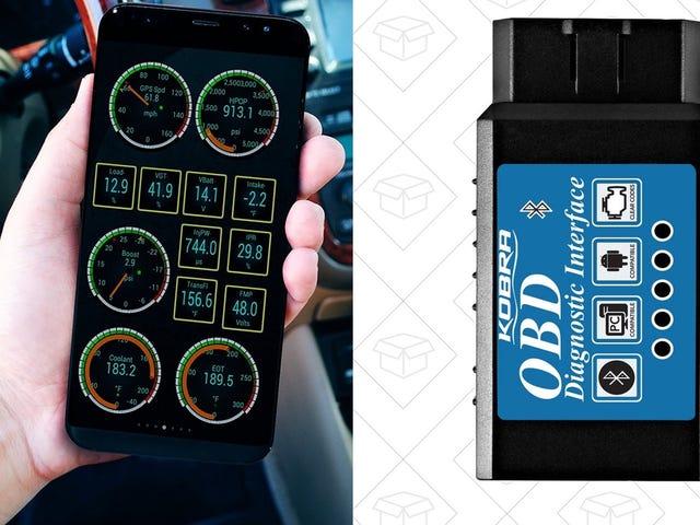Tal din bils sprog med denne $ 9 Bluetooth OBD2 Dongle