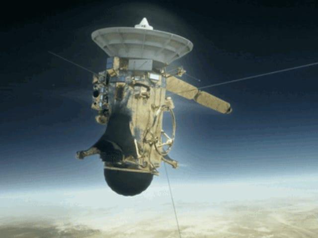 Cómo seguir el final de Cassini, la sonda que nos har mestrado algunas de las imágenes bellas del espacio