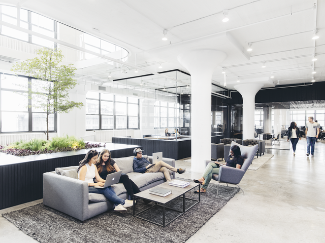 Squarespace's Brand New West Village Workspace