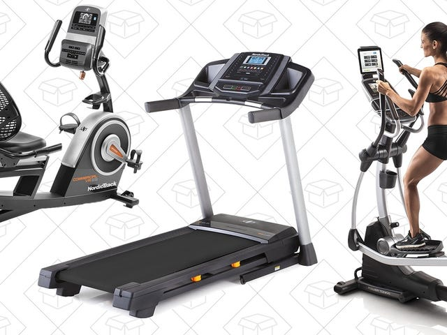 Build Your Own Home Gym With Amazon's One-Day NordicTrack Sale