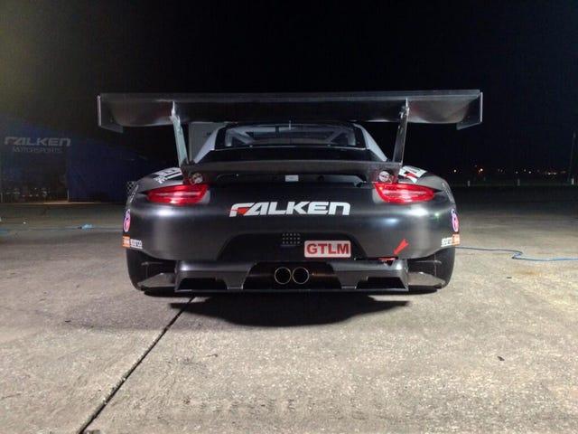 Say hello to Valentina, Falken Tires new GTLM Porsche.