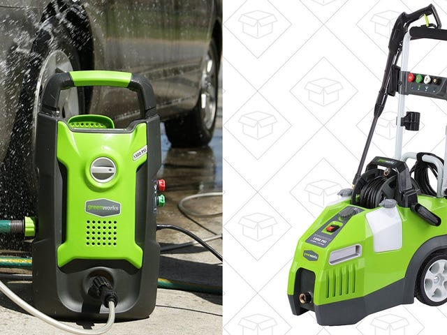 No Pressure, But These Pressure Washer Discounts Are Really Good, and Only Available Today