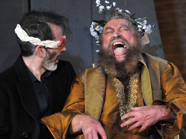 We almost had Brian Blessed in Series 9 of Doctor Who