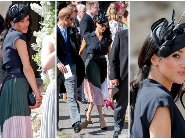 This Is Not a Drill: Love Meghan Markle's Club Monaco Dress? It's Being Restocked Friday Morning