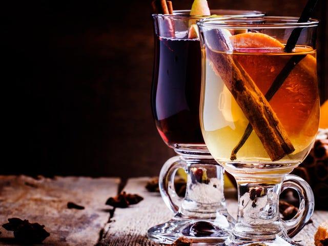 Hot booze: a taxonomy