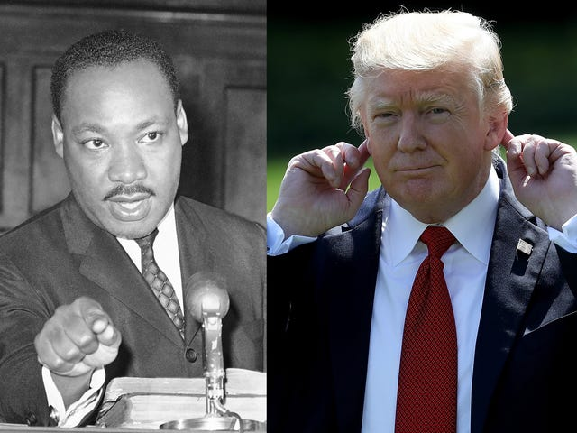 What Martin Luther King Jr. Would Say About White People and Their 'Shithole' Silence