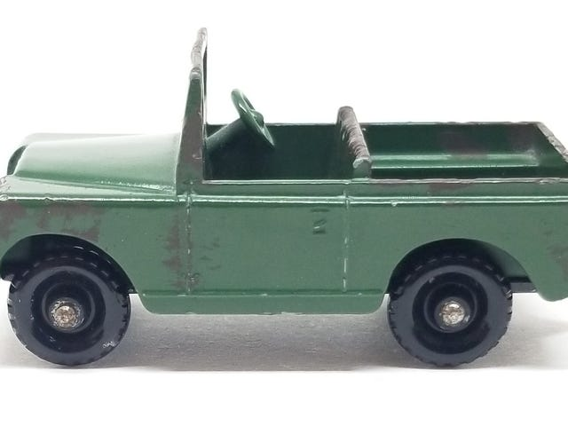 [REVIEW] Lesney Matchbox Land Rover Series II