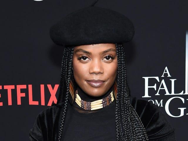 'Det har varit väldigt svårt': Sistas Star Novi Brown blir frisk om att vara en brun tjej i Hollywood