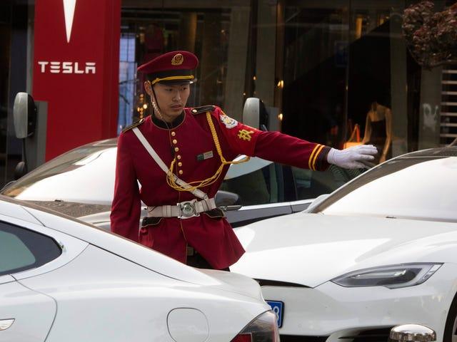 Китай останавливает таможенное оформление для Tesla Model 3 из-за «проблем с принтером» (обновление: исправлено)