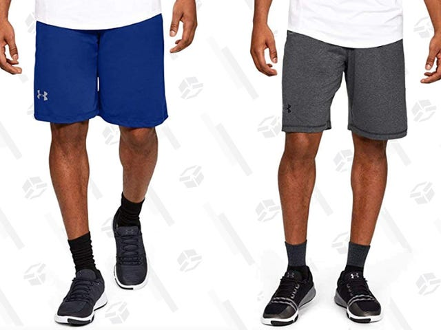 Ditch Your Long Pants and Grab Some Under Armour Shorts While They're Only $15