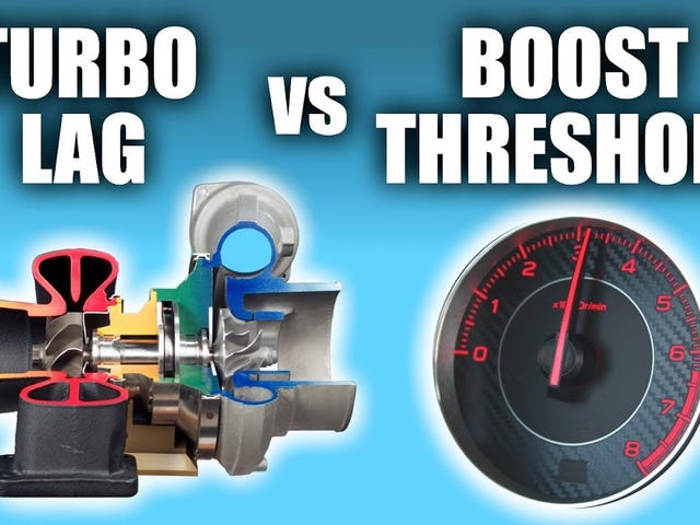 Boost Threshold And Turbo Lag Aren't The Same Thing