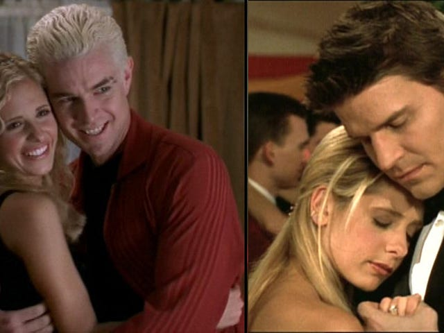 Bad News Buffy: Sarah Michelle Gellar Chooses Angel Over Spike