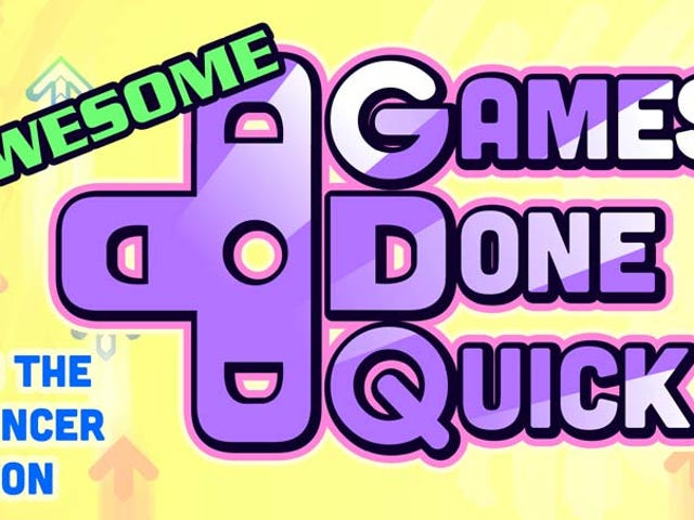 Awesome Games Done Quick Starts Now! Let's Watch.