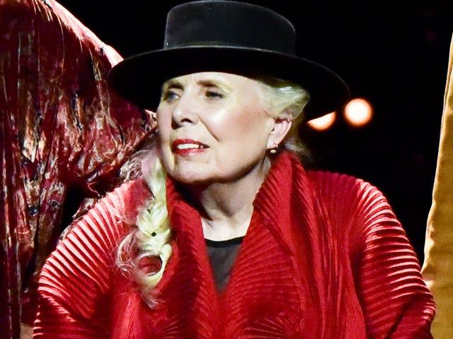 Joni Mitchell Makes Rare Public Appearance at 75th Birthday Extravaganza