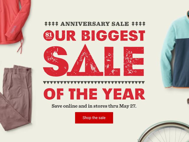 La venta del 81 aniversario de REI es básicamente un viernes negro para los amantes del aire libre