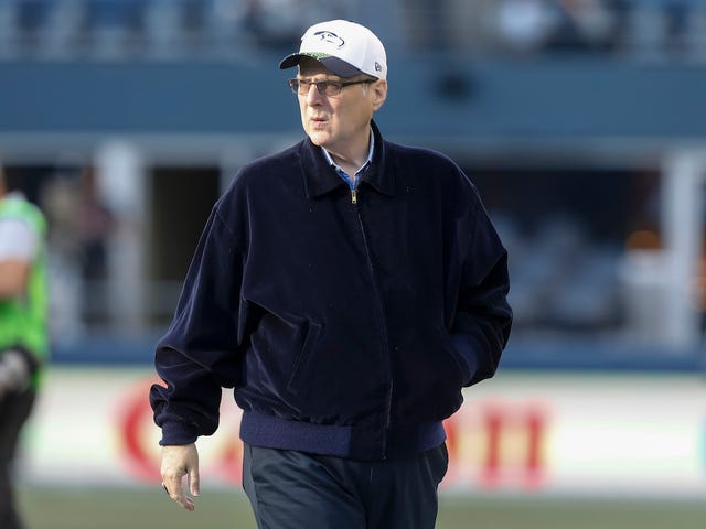 Seahawks And Trail Blazers Owner Paul Allen Dies Of Cancer At 65