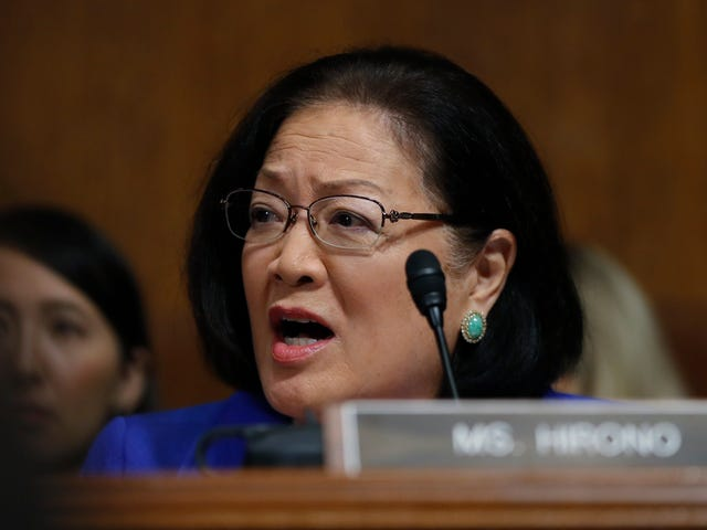 Mazie Hirono Says Susan Collins Can't Have It Both Ways on Christine Blasey Ford and #MeToo: 'What Is That?'