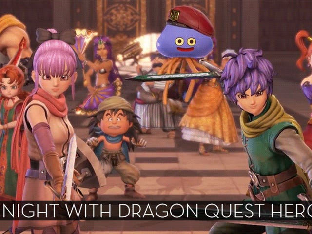 The Up-All-Night Stream Plays Dragon Quest Heroes II [Stream Over]