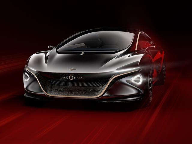 The Lagonda Vision Concept Is Aston Martin's Dreamy Luxurious Future