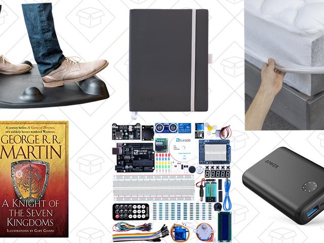 Le migliori offerte martedì: Kit di avvio Arduino, Cassetto d'oro per materasso, Anker PowerCore II e altro ancora