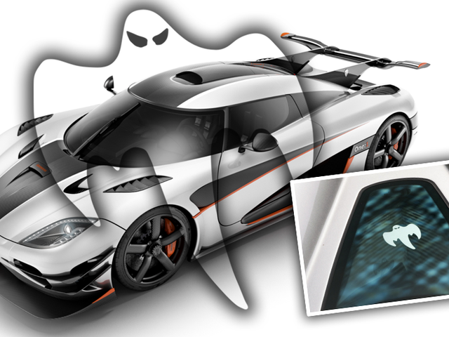 Why Does Koenigsegg Have A Ghost On All Their Cars?