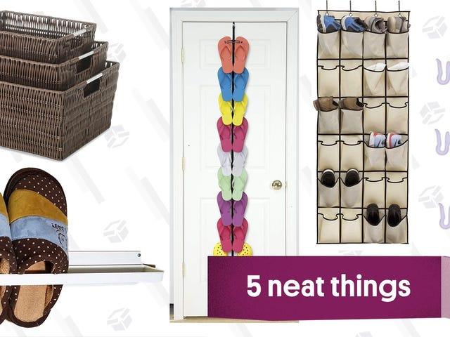 Five Smart Ways To Store Flip Flops