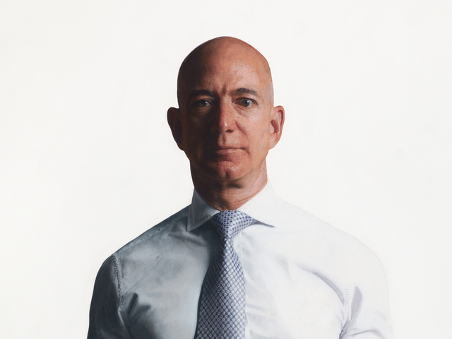 This Is How You Paint Jeff Bezos