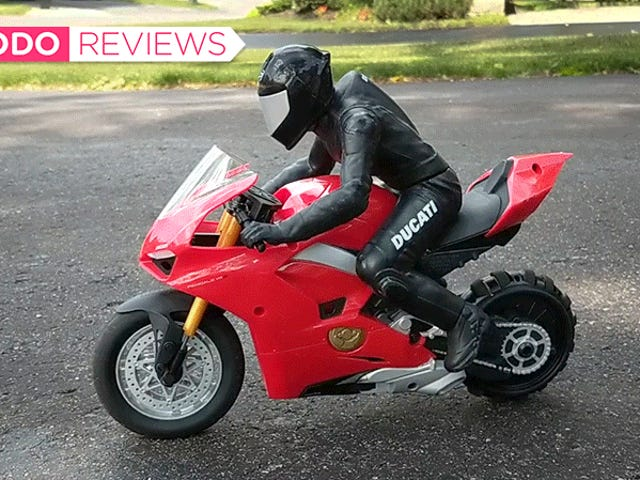 Chiếc xe máy RC Ducati này đang đóng gói một số công nghệ thông minh đáng ngạc nhiên