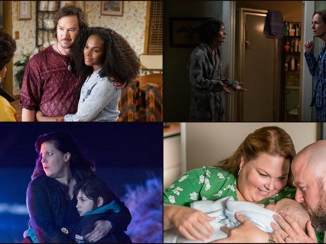 Dan sekarang, jatuh TV dengan bangga mempersembahkan: Keluarga!