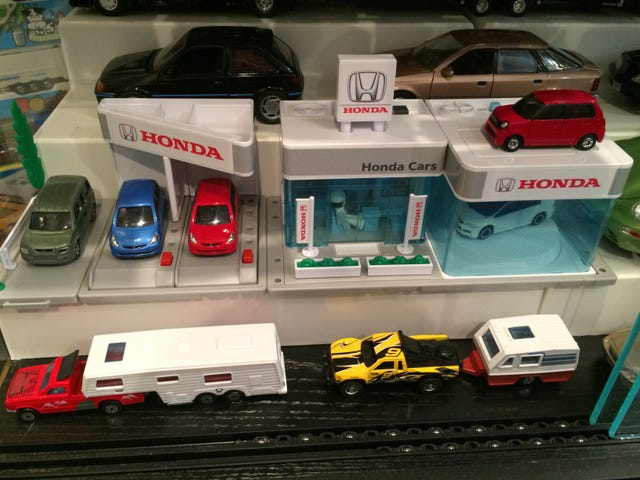 Tomica Honda Dealer