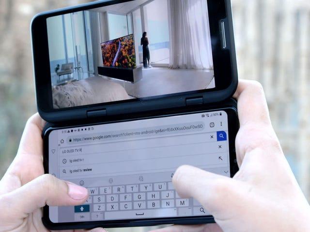 LGは、IFA 2019で最大3つの画面を備えた電話機を発表します