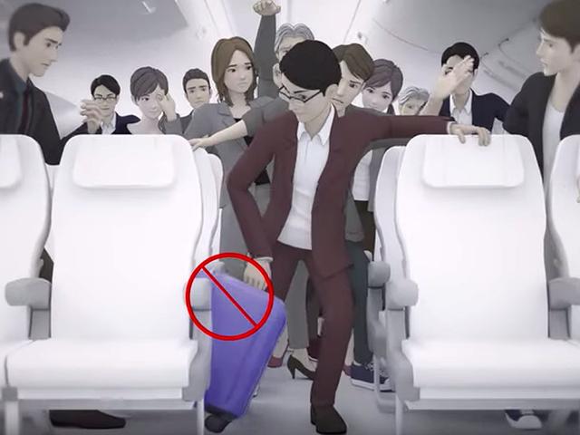 La otra razón por la que te piden que abandones tu equipaje de mano durante un aterrizaje de emergencia