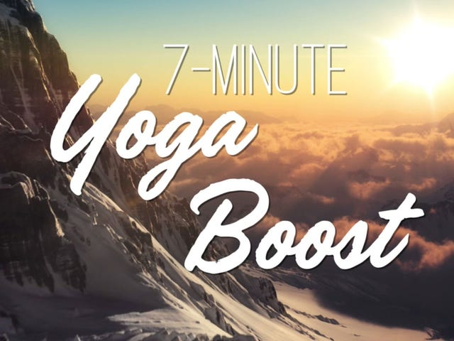 Get an Energy Boost with This Seven-Minute Yoga Routine